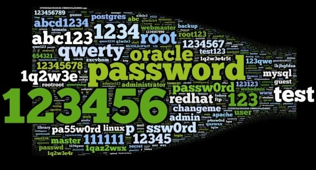 Image result for worst passwords