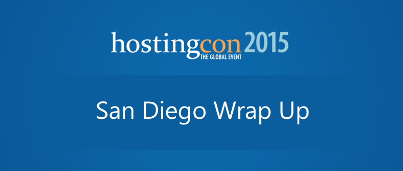 HostingCon 2015 Wrap Up