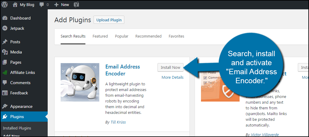 Activate Email Address Encoder