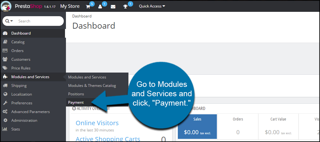 Payment Modules