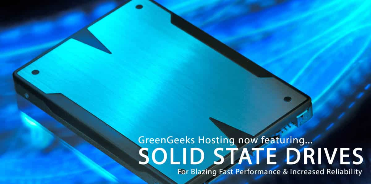 GreenGeeks SSD Hosting