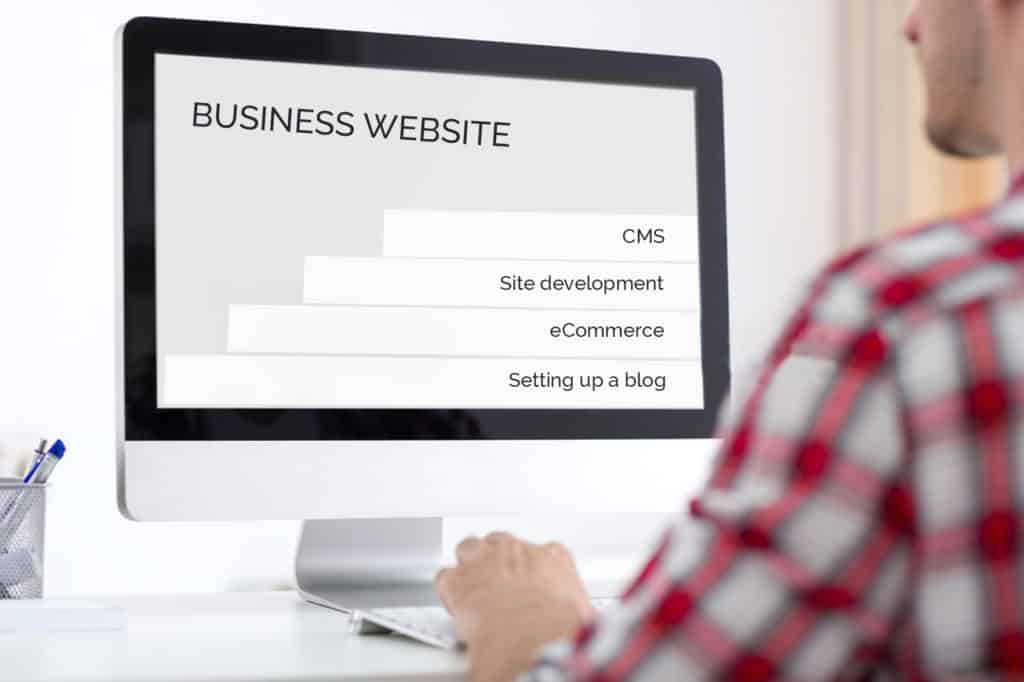 build a small business website
