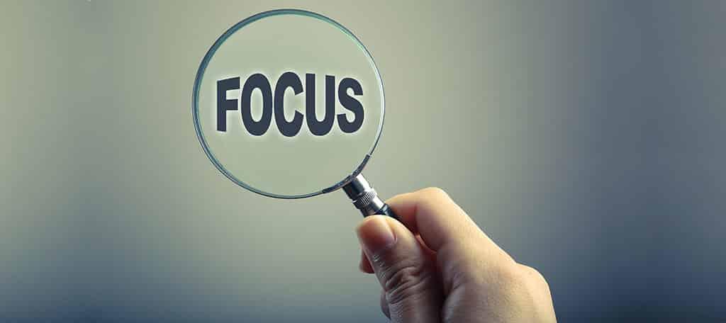 keeping focus