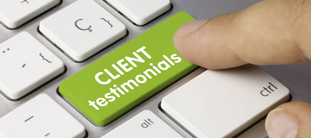 review and testimonials