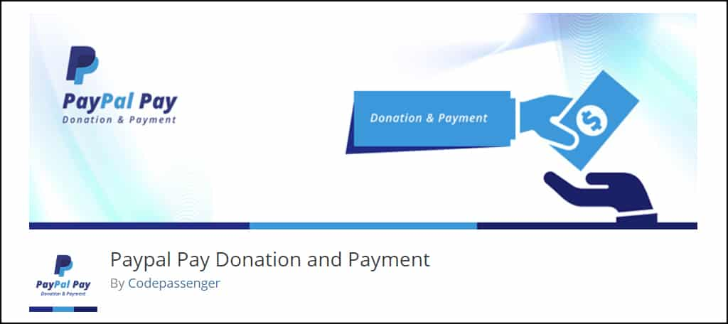 PayPal Pay Donation