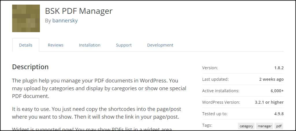 BSK PDF Manager