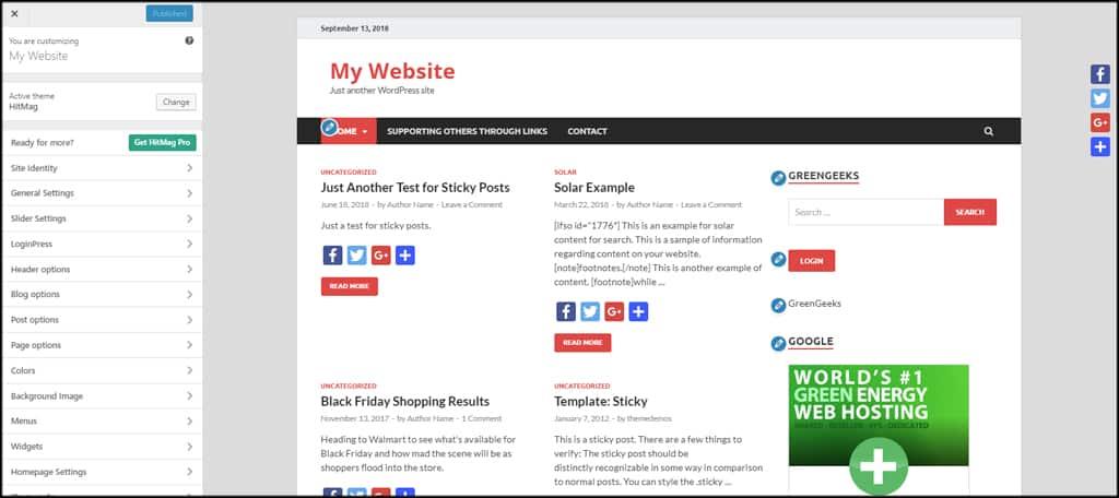 Manage Homepage