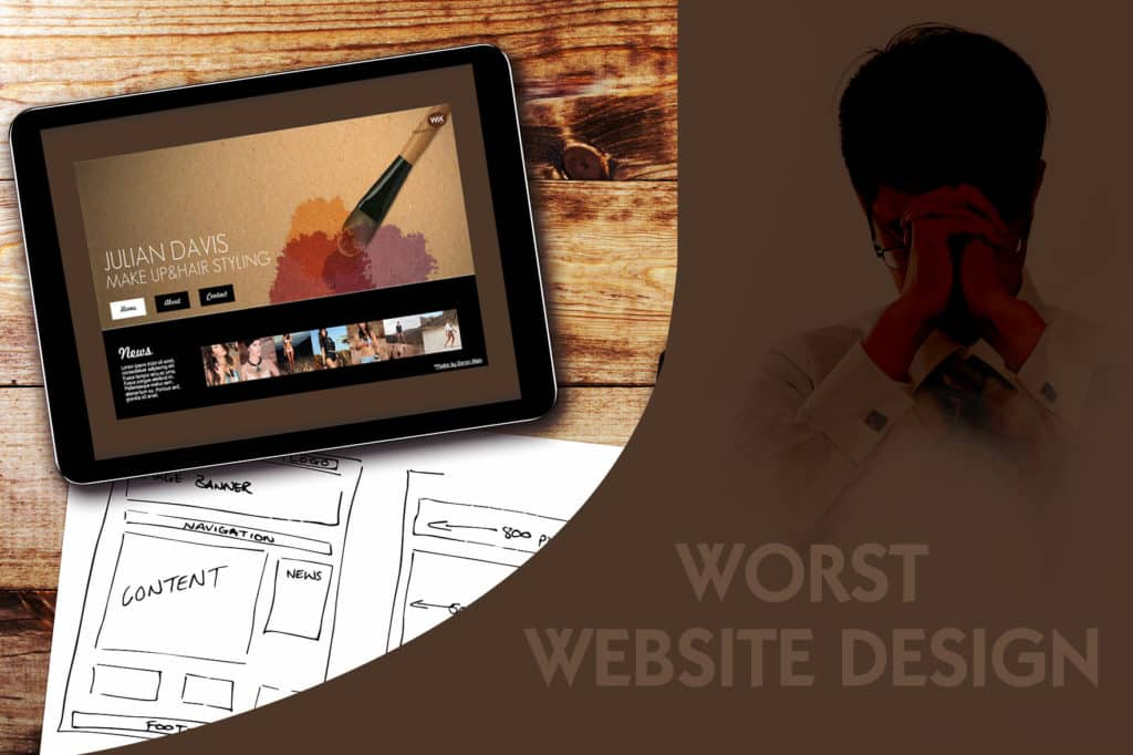 website design ideas for business