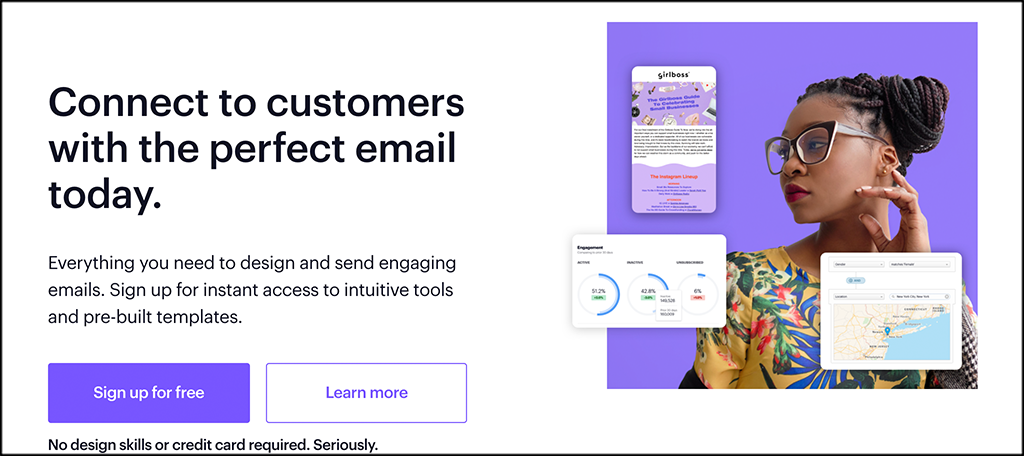 Campaign Monitor email marketing services