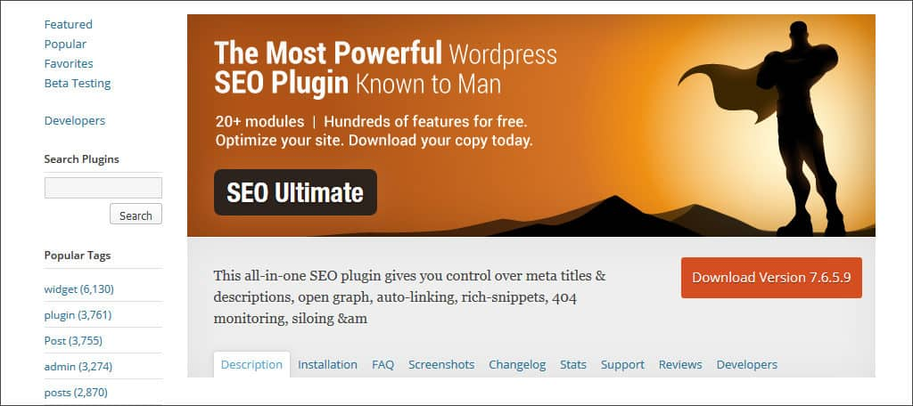 seo ultimate plugin