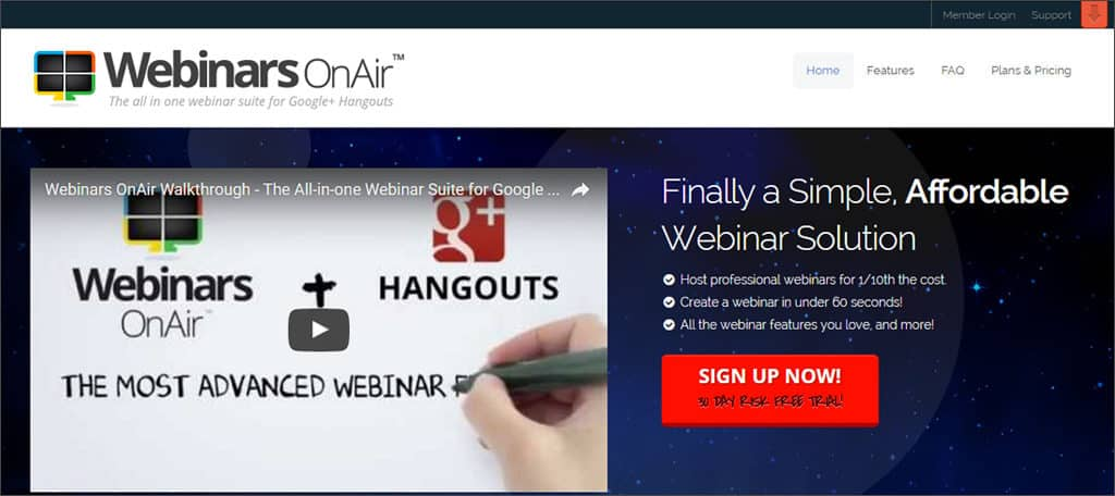 webinars on air