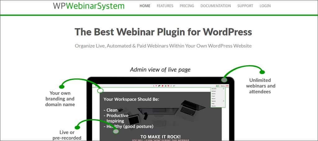 wp webinar system