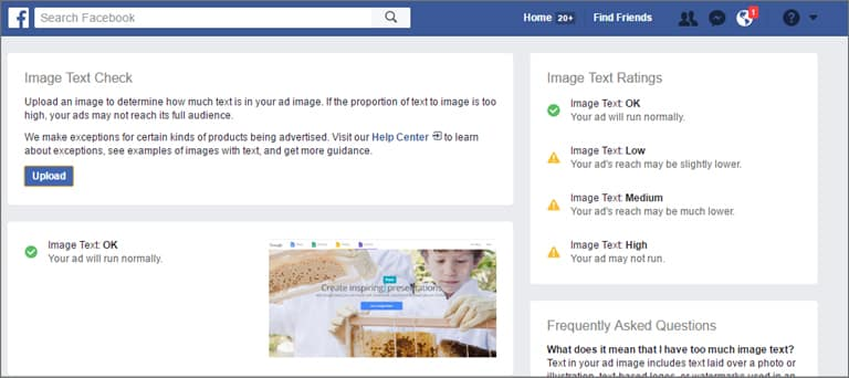 Facebook Text Overlay Tool