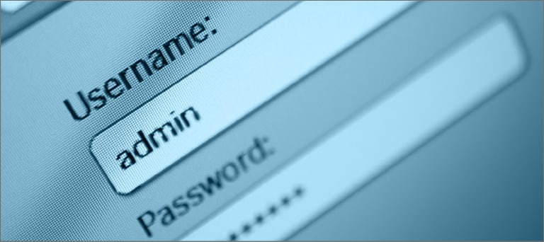 Complex Username Passwords