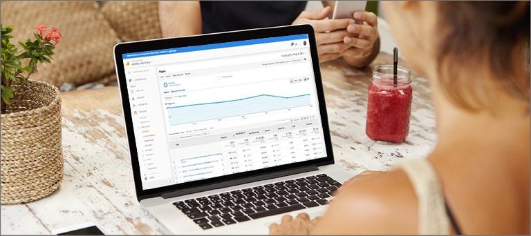 Monitor Google Analytics