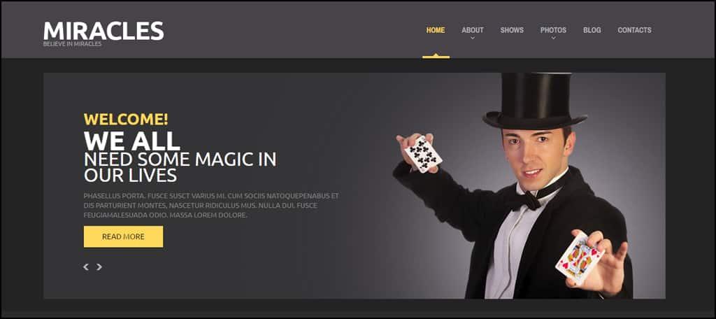 Magic Responsive