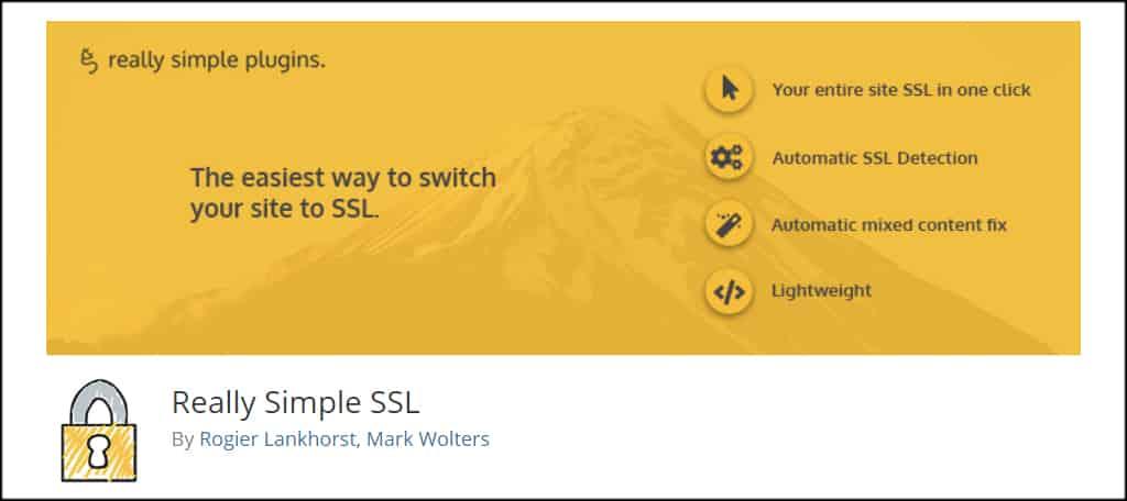 Really Simple SSL