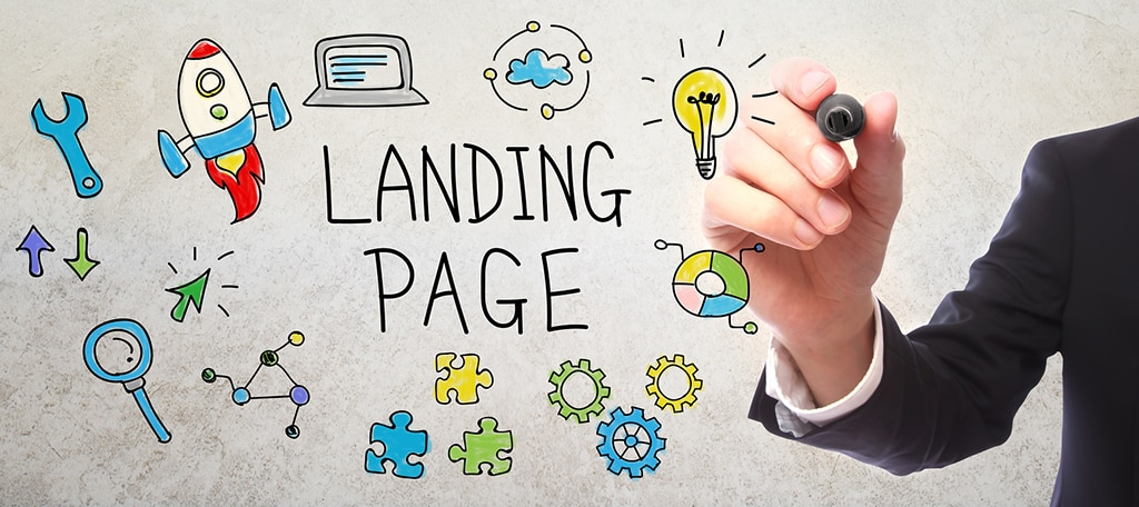 Social Network Landing Pages