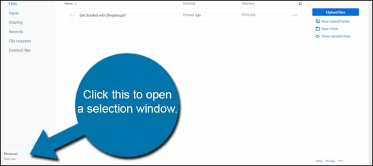 Selection Window