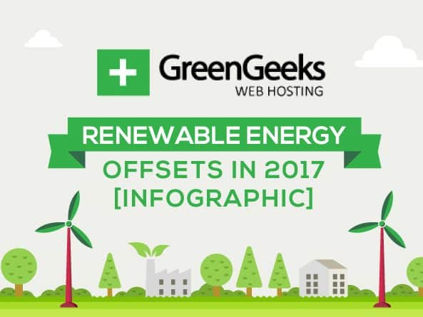 GreenGeeks Renewable Energy Offsets 2017