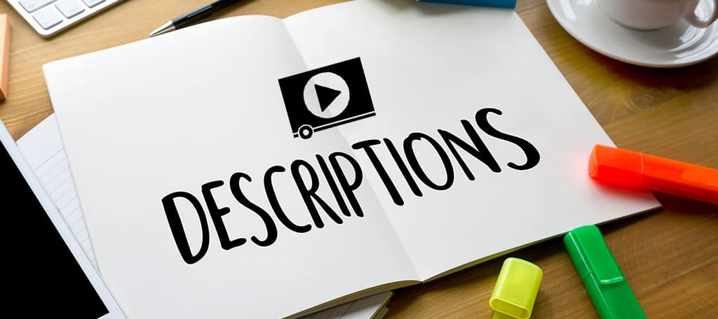 Write Detailed Video Descriptions