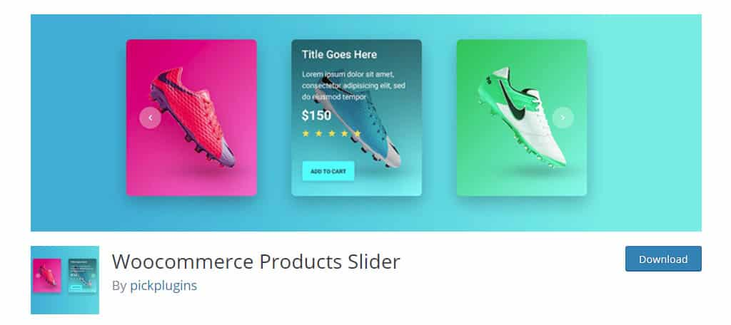 WooCommerce Products Slider