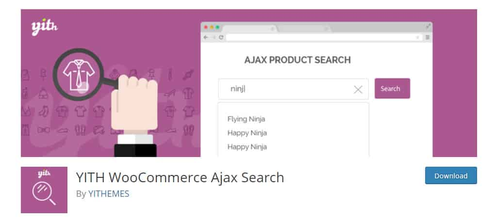 YITH Ajax Search