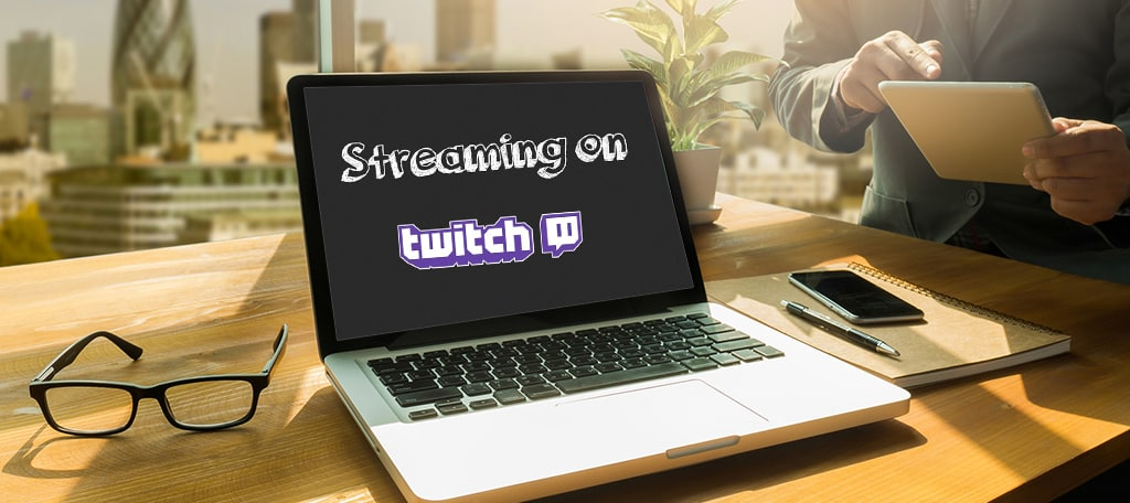 Promote through Twitch