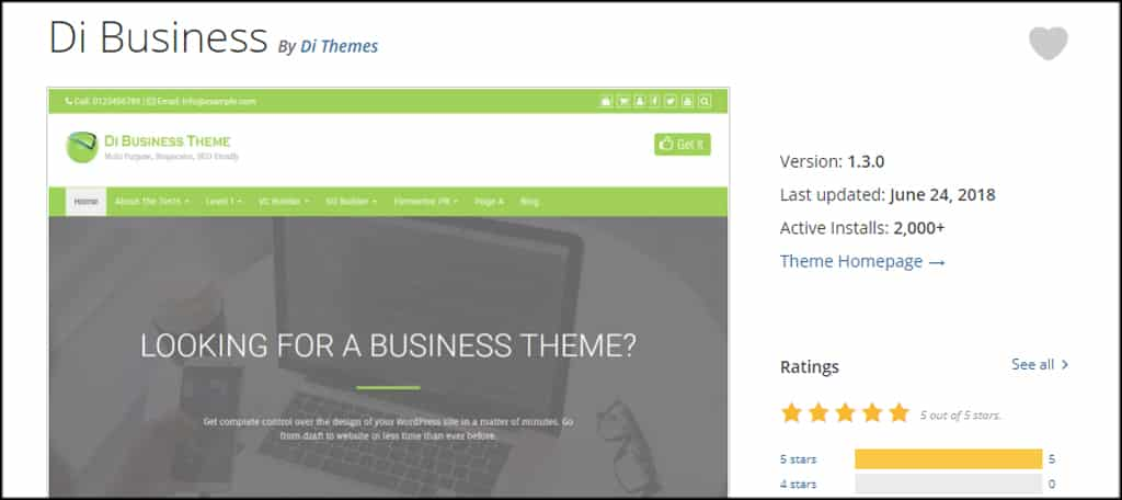Here are 21+ Best WordPress Themes For A Small Business - GreenGeeks