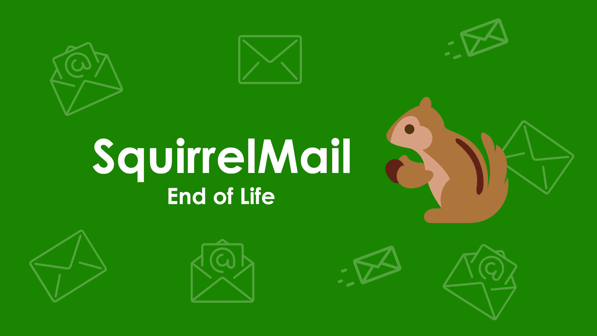 SquirrelMail End of Life