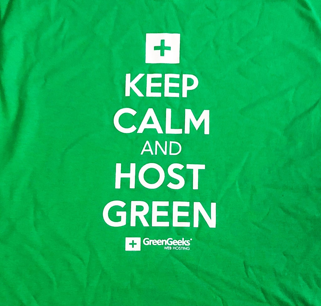 Keep Calm Host Green