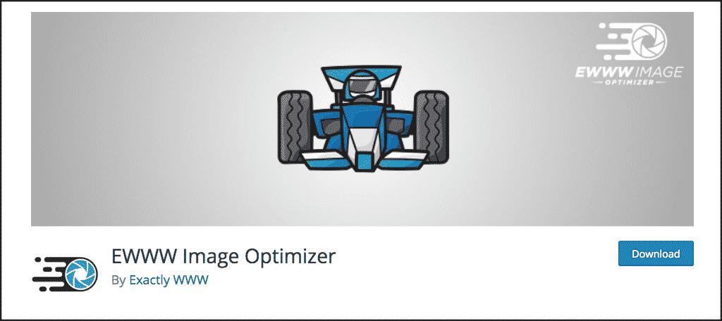 Ewww image optimizer plugin