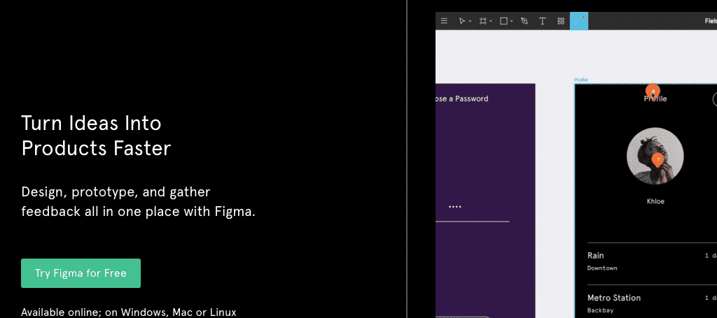 Figma free web design tools