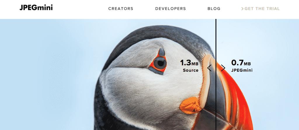 Jpeg mini image optimizer and compression
