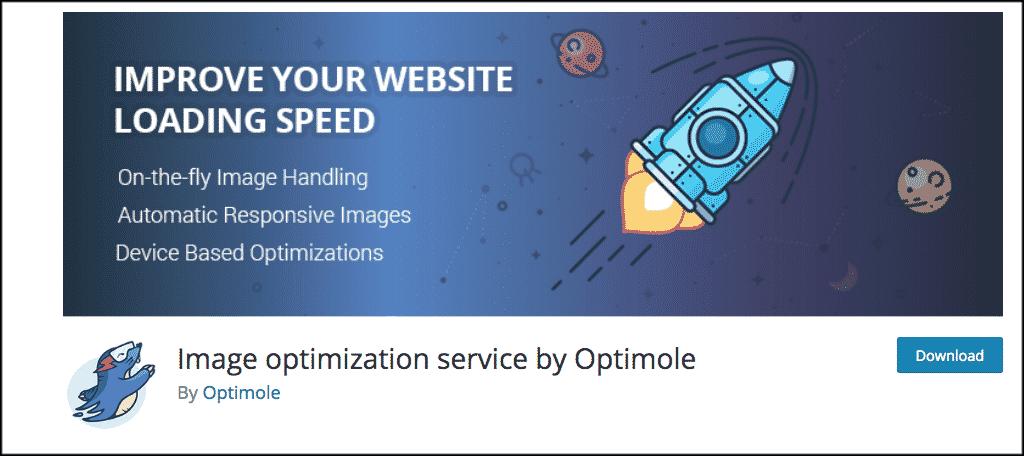 Optimole image compression plugin