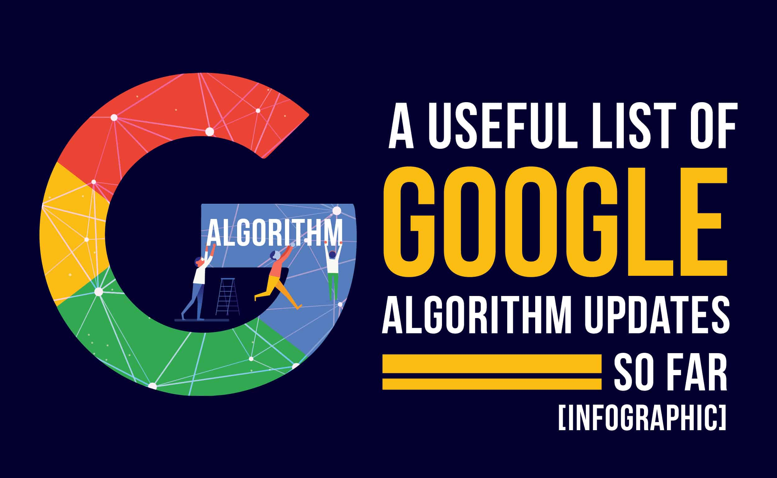 A Useful List of Google Algorithm Updates
