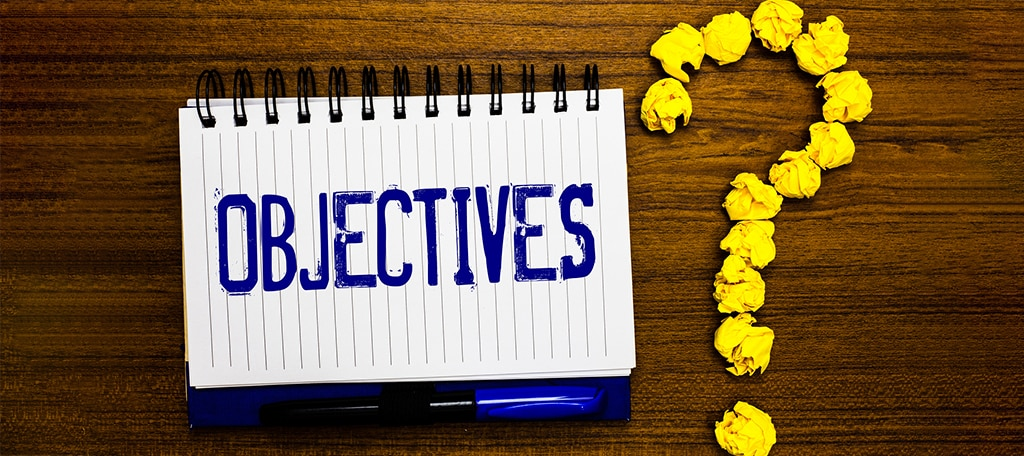 Set Objectives