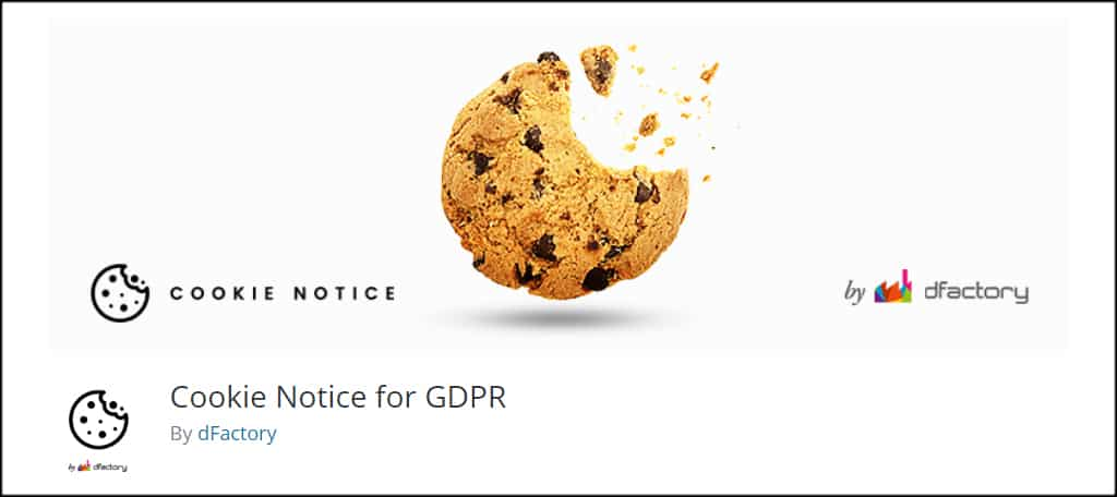 Cookie Notice GDPR