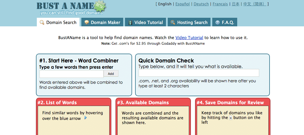 20 Top-Rated Domain Names Generators You Should Try