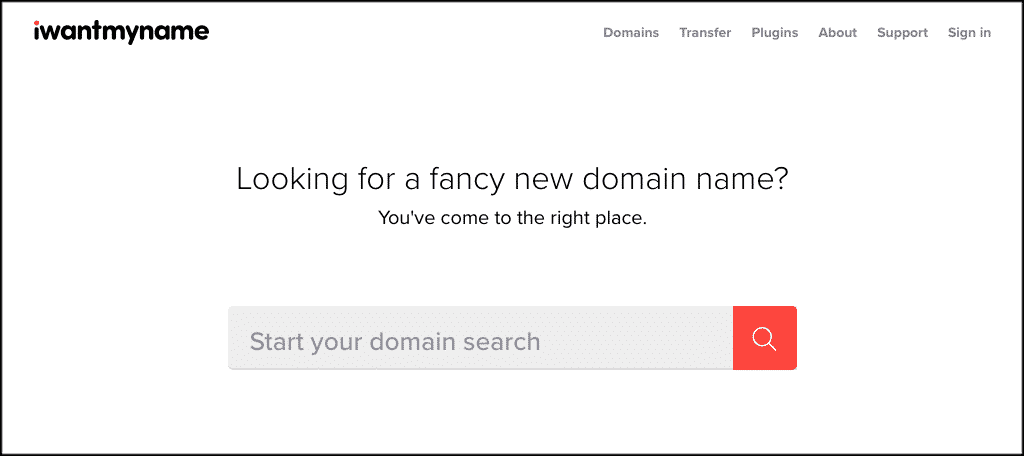 I want my name domain name generator tool