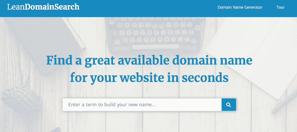 Lean domain search domain name generator tool