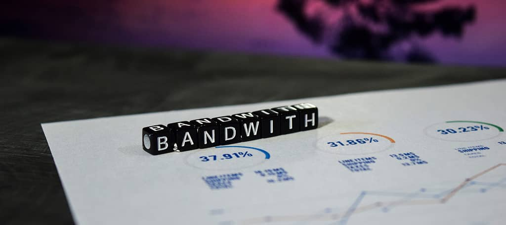 adding website bandwidth
