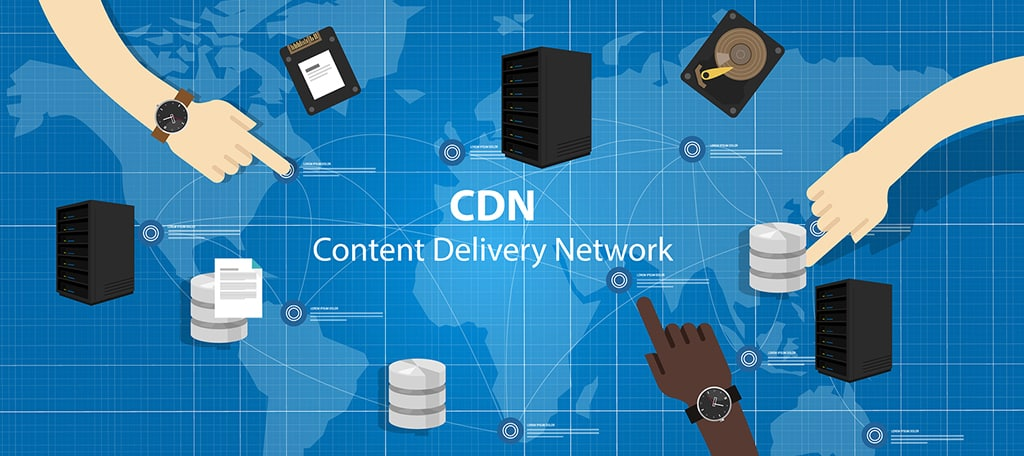 Content delivery networks (CDN) speed up website performance