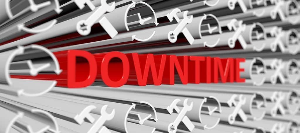 web hosting downtime