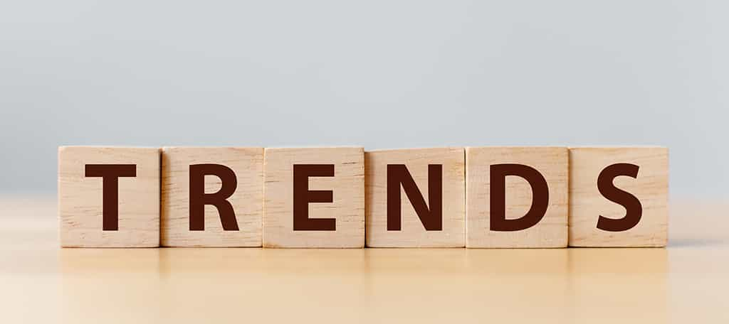 Use top trends by google