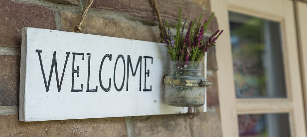 Use welcome strategies