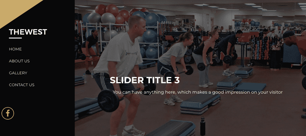The west fitness theme for wordpress