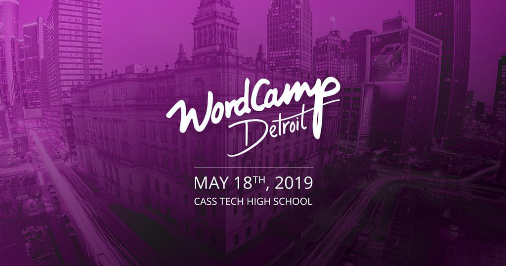 WordCamp Detroit 2019