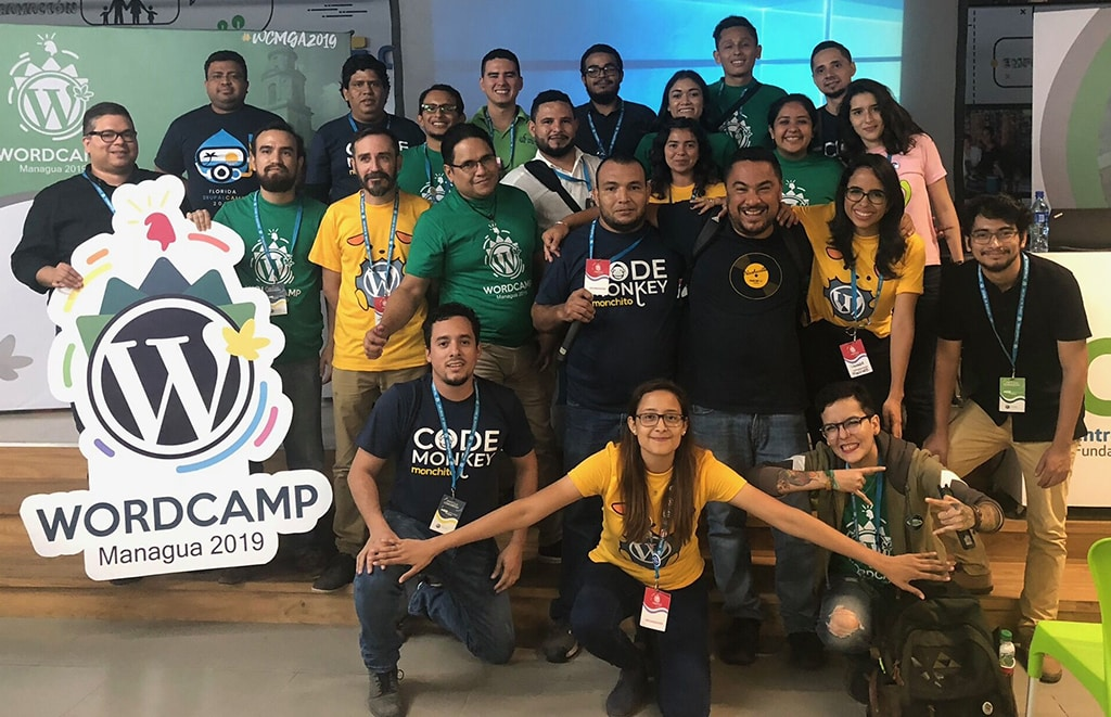 WordCamp Managua 2019 Group