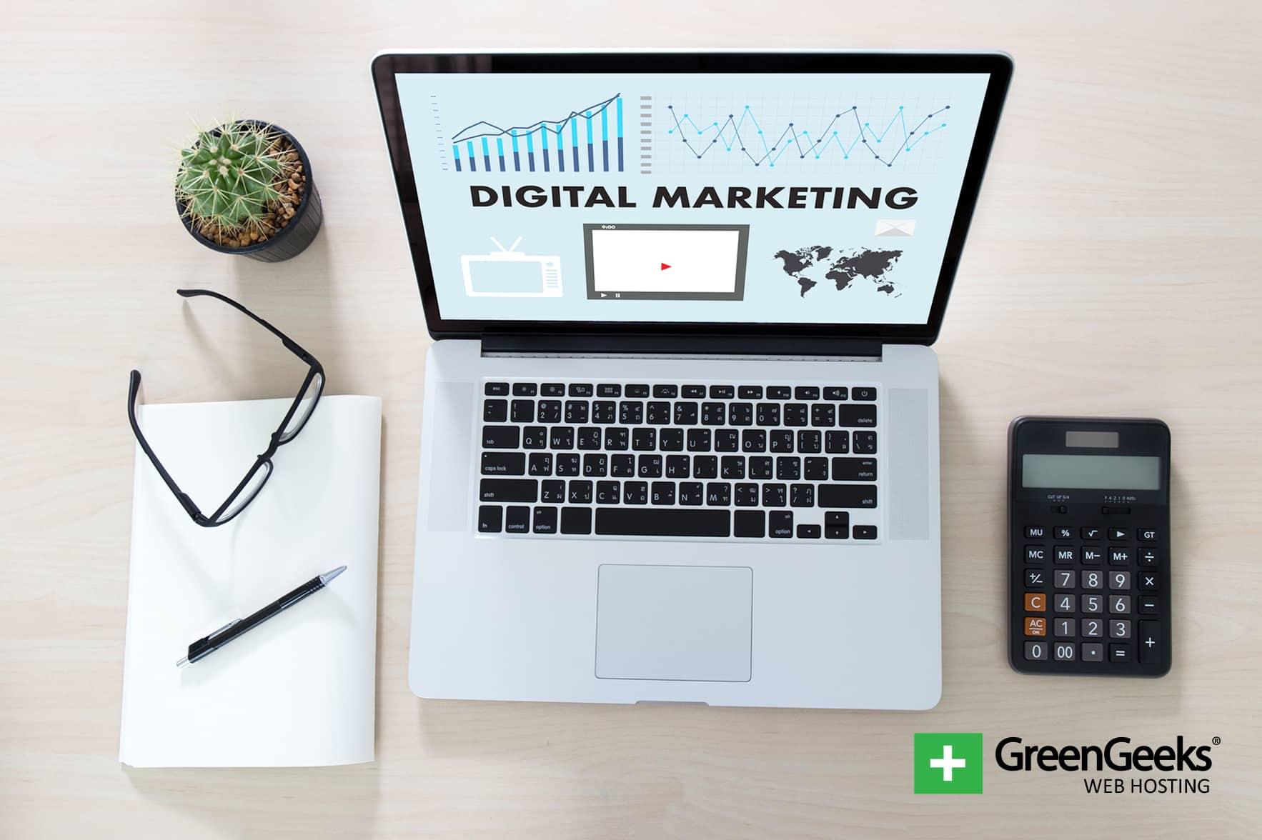 Digital marketing channels